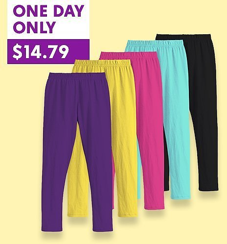 Love This Brand Stock Up On 5-Pack Leggings Sets Up to 75% Off