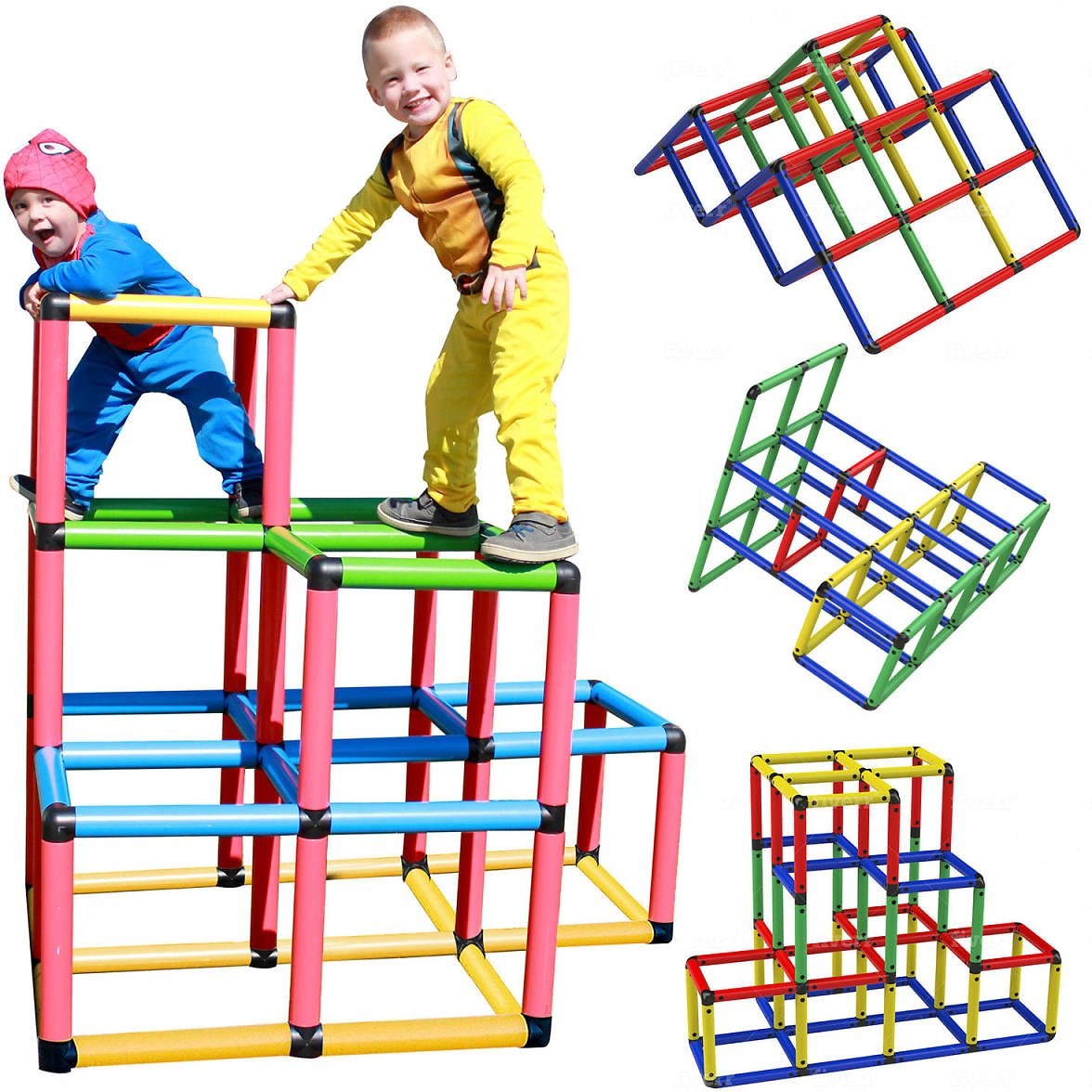 Funphix Create and Play Life Size Structures, Climbing Gyms