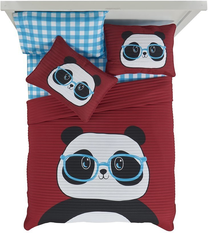 Your Zone Red Panda Quilt in a Bag