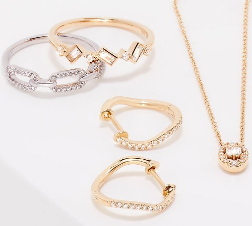 Up to 90% Off Diamond Rings, Watches, & More