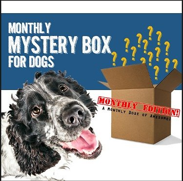 Deluxe Dog Pack - Our Most Beloved Box Filled with 6-8 Hand-selected Treats, Toys, and Accessories! Ships Monthly Around The 10th, and Rebills Every Month! - 13 Deals
