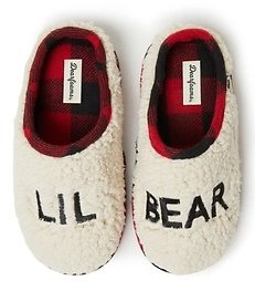 Dearfoams Lil Bear Sherpa Clog Slipper