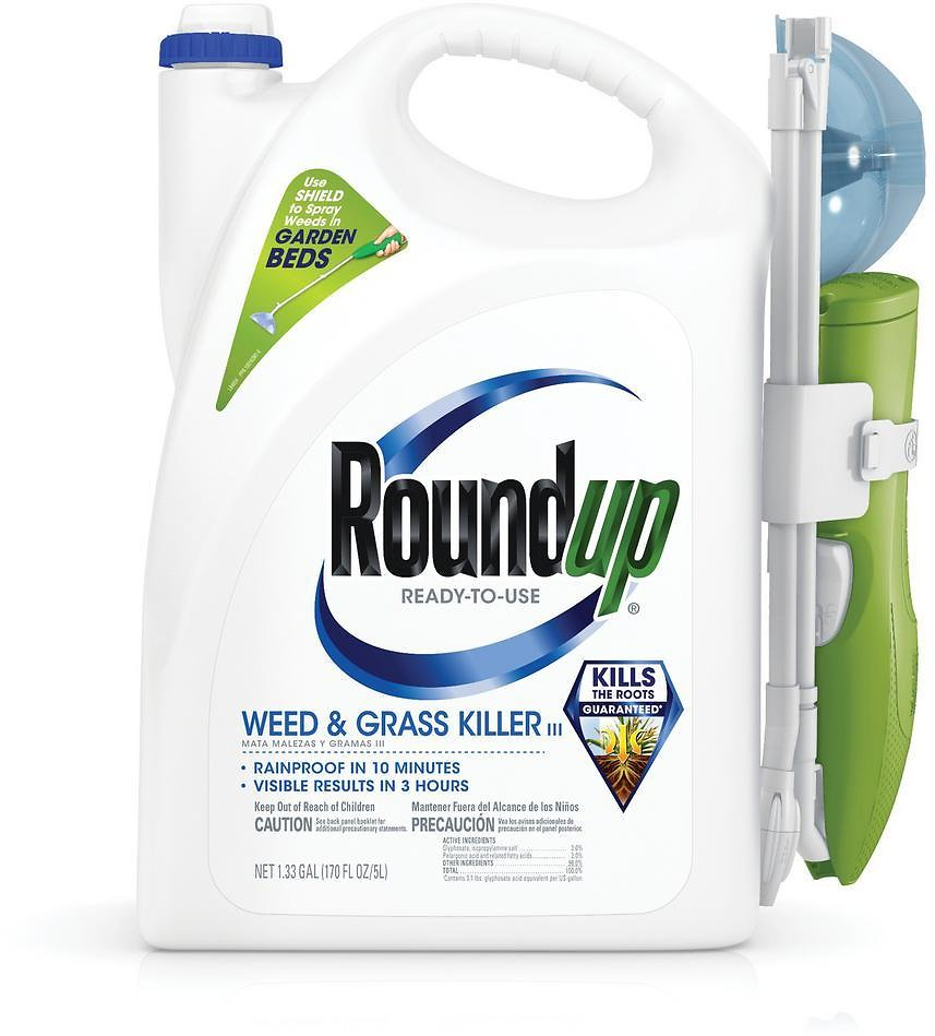 Roundup Ready-to-Use Weed and Grass Killer with Sure Shot Wand-520051010