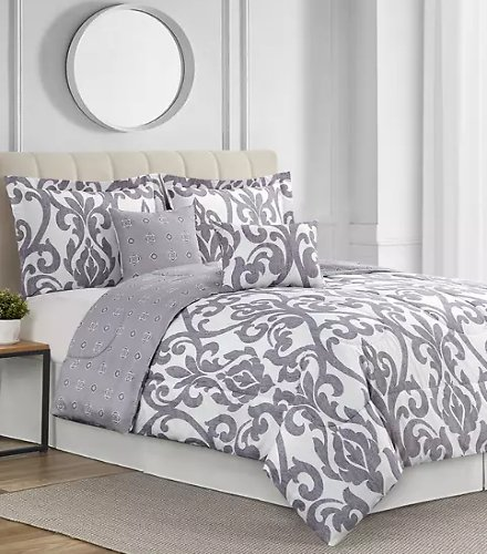 6 Piece Modern Southern Home Comforter Sets