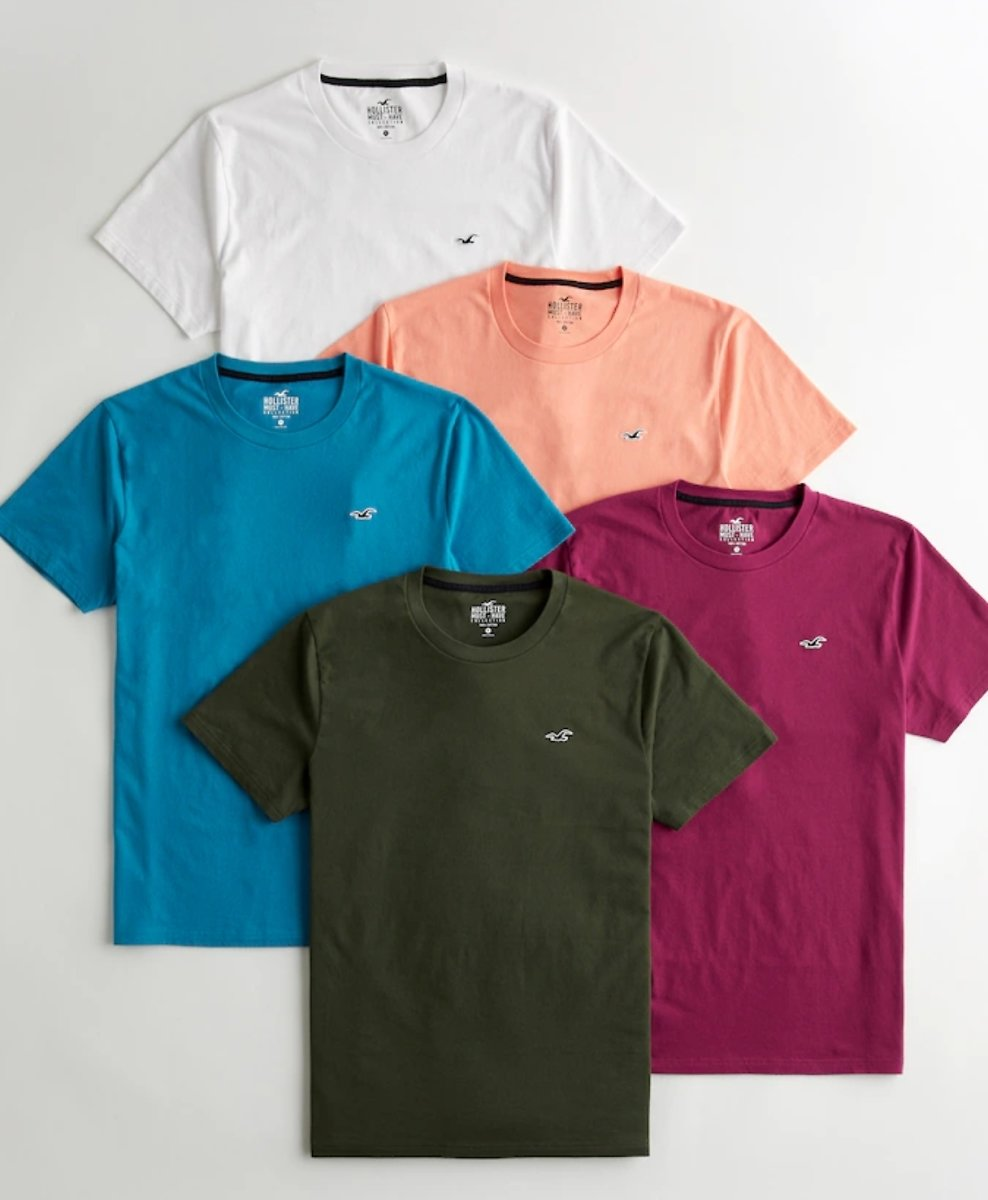 Must-Have Crewneck T-Shirt 5-Pack