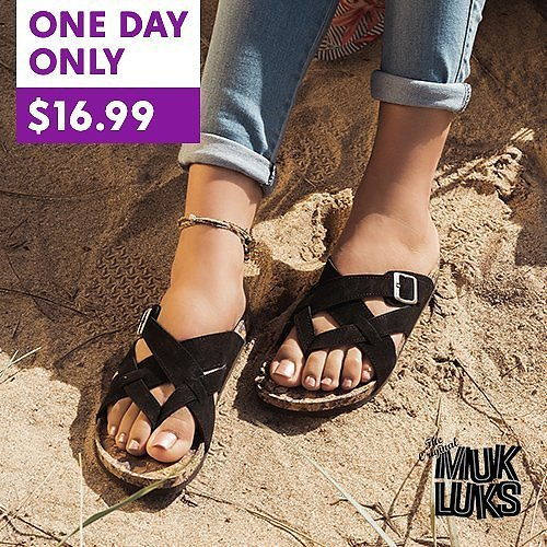 Up to 60% Off Footbed Sandals From Muk Luks