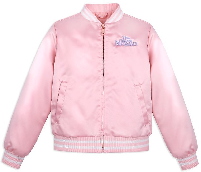 The Little Mermaid Satin Bomber Jacket for Girls | ShopDisney