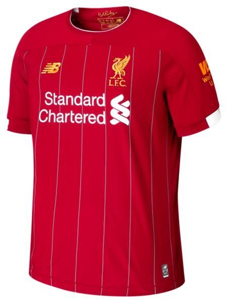 Kid's Liverpool FC Home Junior SS Jersey