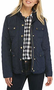 Crown & Ivy Petite Quilted Jacket