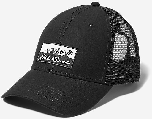 Graphic Cap - Eddie Bauer Logo (4 Colors)