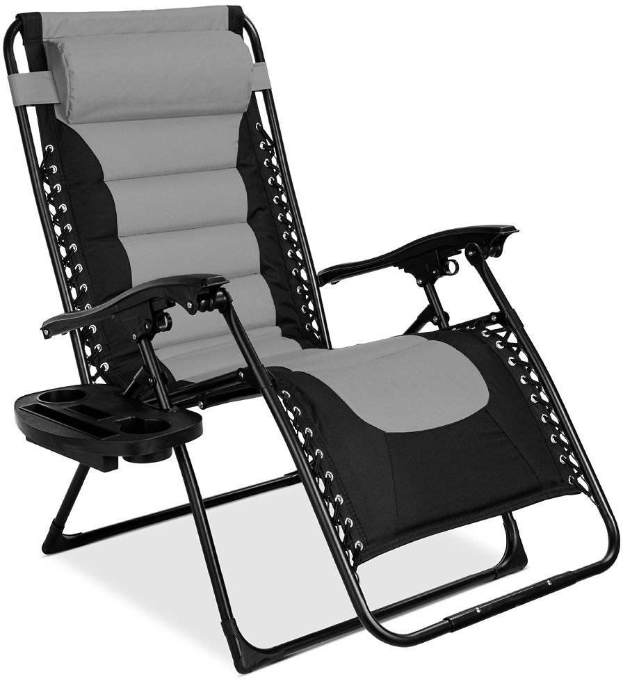 Best Choice Products Oversized Padded Zero Gravity Chair