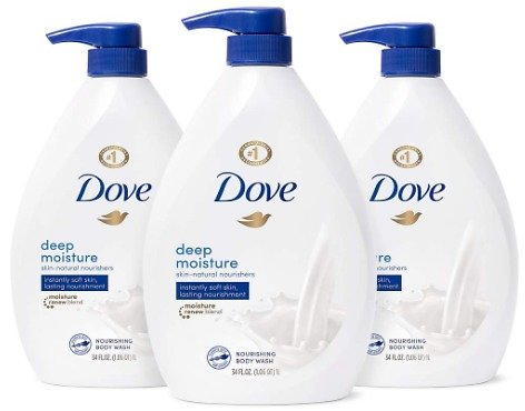 Dove Body Wash with Pump with Skin Natural Nourishers