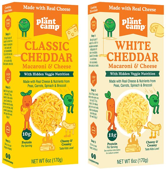 TWO FREE Boxes of Plant Camp Mac & Cheese 6 Oz