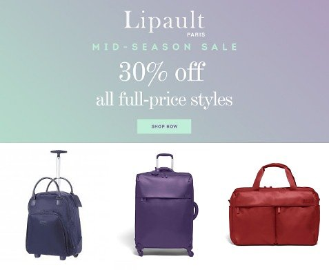Lipault Paris - Mid Season Sale