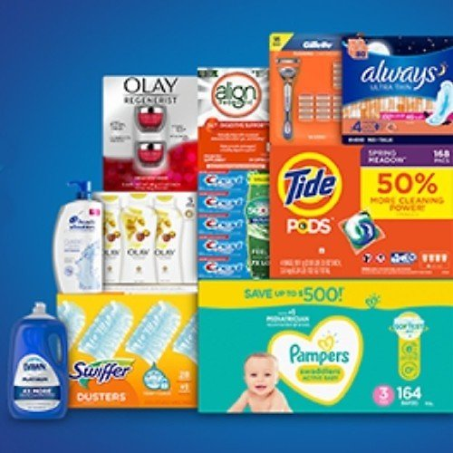 Free $15 Gift Card w/ P&G Purchase