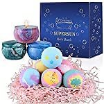 Amazon : Bath Bombs Scented Candles Set For $13.50