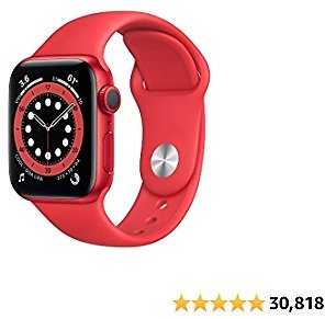 8% Off New Apple Watch Series 6 (GPS, 40mm) - (Product) RED - Aluminum Case with (Product) RED - Sport Band