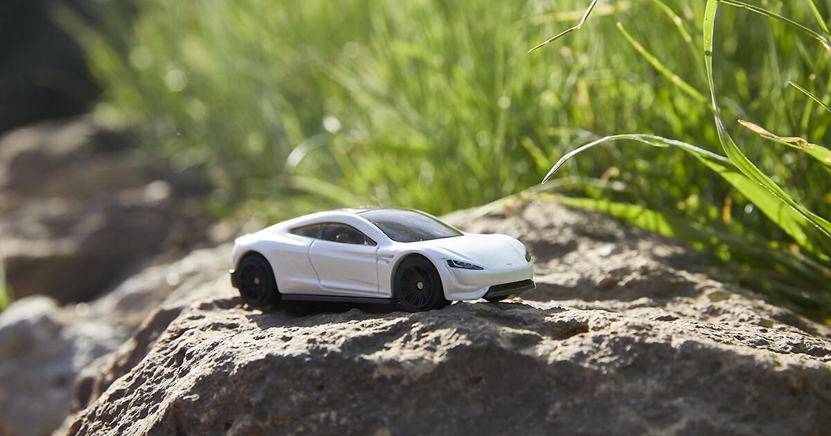 Matchbox's New Tesla Roadster Toy Is Made from 99% Recyclable Materials