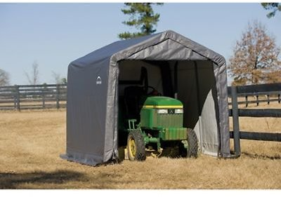 ShelterLogic Shed-in-a-Box, 10 Ft. W X 10 Ft. L X 8 Ft. H , 70833 At Tractor Supply Co.