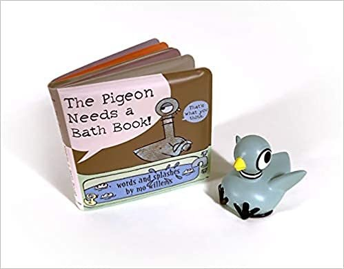 The Pigeon Needs a Bath Book with Pigeon Bath Toy! - By Mo Willems (Mixed Media Product)
