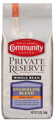 3PK Community Coffee Evangeline Blend Whole Bean Coffee 12oz F