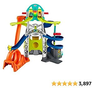 36% Off Fisher-Price Little People Launch and Loop Raceway, Vehicle Playset for Toddlers and Preschool Kids