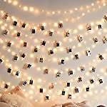 Amazon : 50 LEDs 50 Photo Clips String Light For $5.40