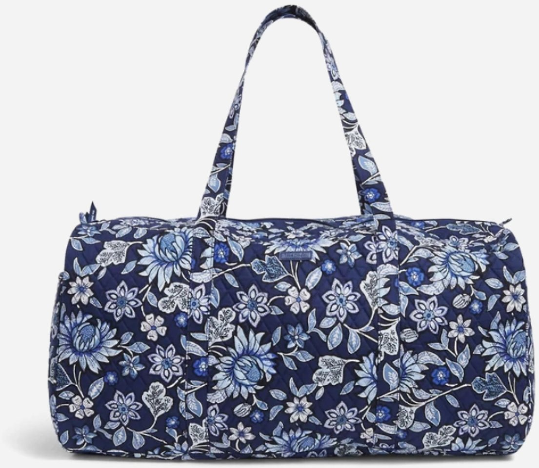 Today Only! Vera Bradley Factory Style XL Traveler Duffel Bag (2 Colors)