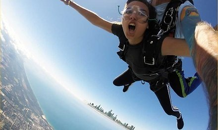 BBronze Tandem Skydive Jump for One Person Ages 18 and Up