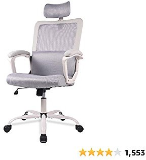 Ergonomic Mesh Office Chair with Lumbar Support for $85.47 + Free Shipping
