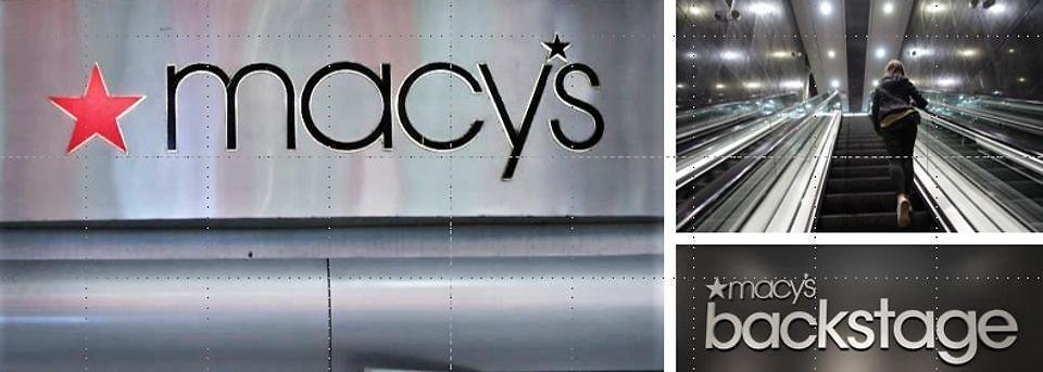 Macy's Backstage Move Is An Escalator Down, Not Up