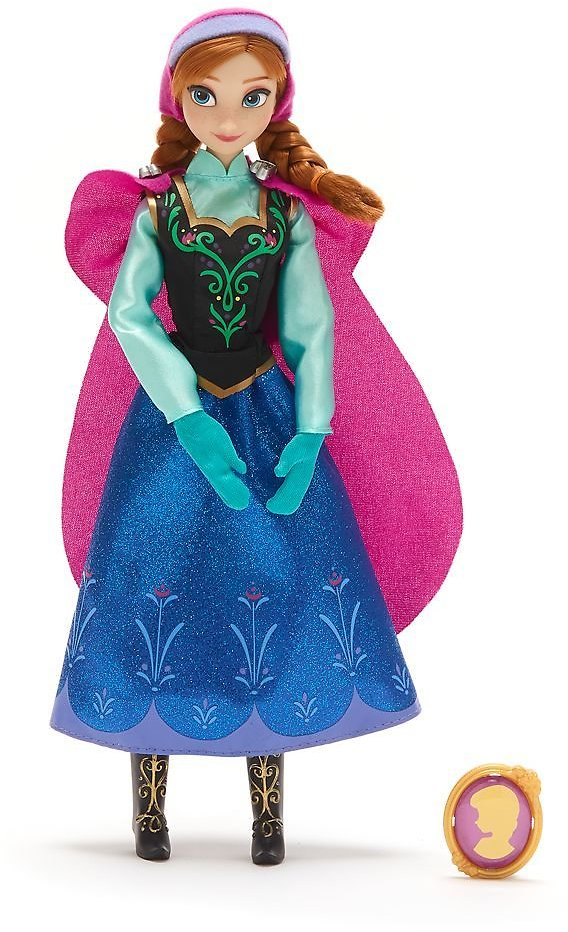 Anna Classic Doll with Pendant – Frozen – 11 1/2'' |,Esmaralda,pocahontas Classic Dolls for $10+free ShippingshopDisney