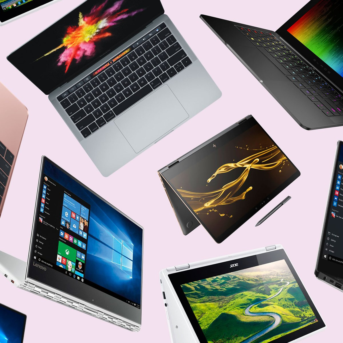 Top Rated Laptops Under $550