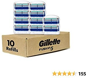 30% 10 Count Gillette Fusion Manual Men's Razor Blade Refills