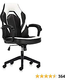 Ergonomic Bonded Leather Executive Computer Chairs with Padding Armrest