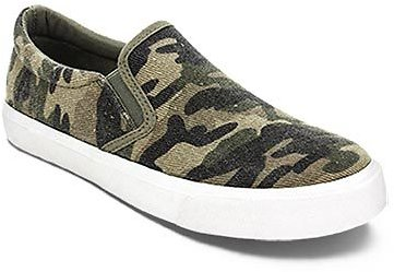 Serra Ladies' Memory Foam Canvas Sneakers (3 Styles)