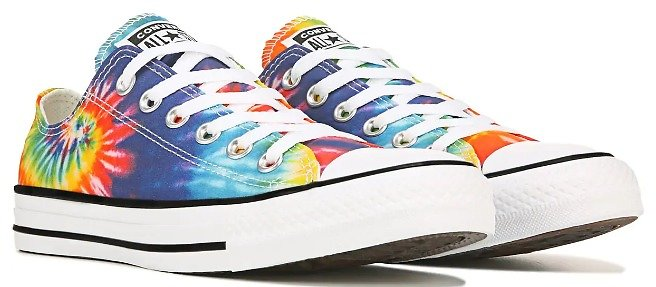 Converse Chuck Taylor All Star Low Top Sneaker Multi, Sneakers and Athletic Shoes, Famous Footwear