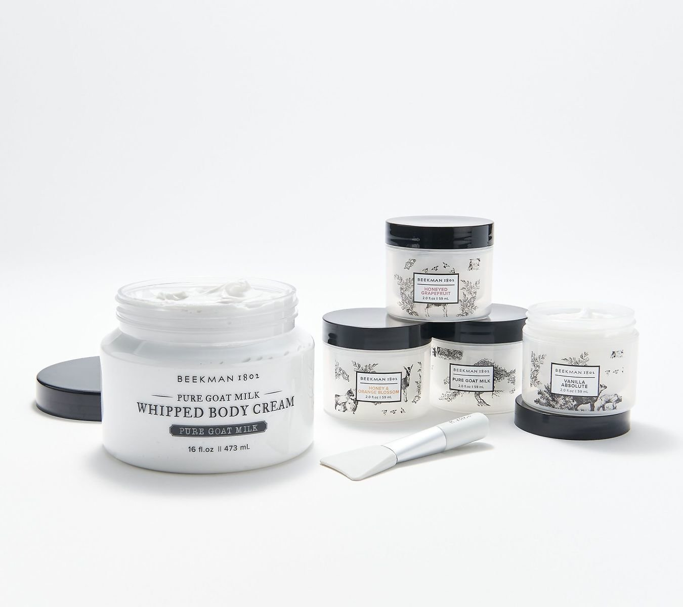 Beekman 1802 5-Piece Whipped Body Cream Collection - QVC.com
