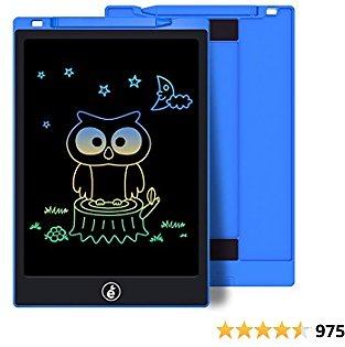 26% Off Kids Drawing Writing Boards LCD Writing Tablet, 10 Inch Electronic Colorful Screen Doodle Scribbler Board Writing Pad Fo