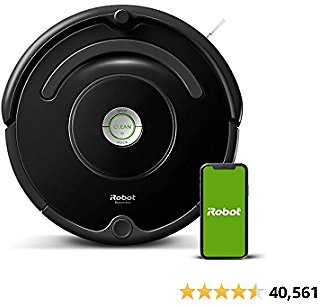 29% Off IRobot Roomba 675 Robot Vacuum-Wi-Fi Connectivity, Works with Alexa, Good for Pet Hair, Carpets, Hard Floors, Self-Charg