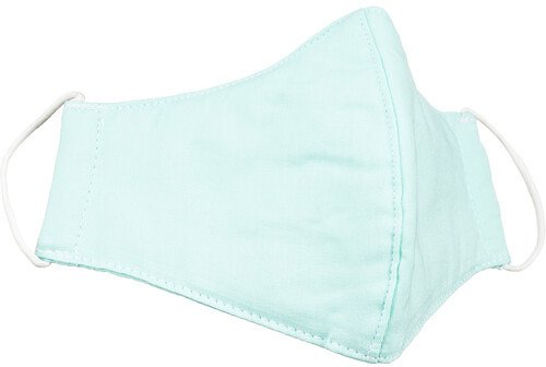 F-stop Reusable 3-Layer Cotton Adult Face Mask (Turquoise)