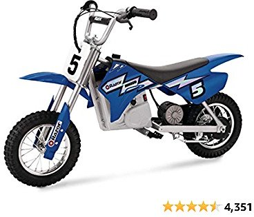 25% Off Razor MX350 Dirt Rocket Electric Motocross Off-road Bike for Age 13+