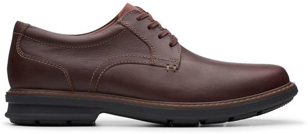 Rendell Plain Mahogany Leather- Clarks® Shoes Official Site | Clarks