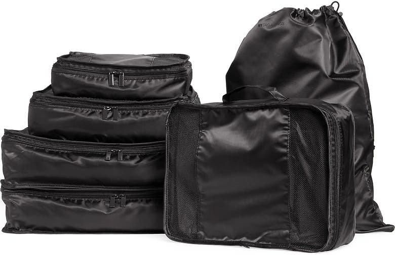 MYTAGALONGS Six-Piece Packing Cube & Laundry Bag Set | Nordstrom