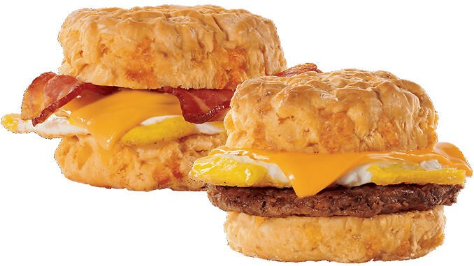 2 for $5 Cheddar Biscuit Breakfast Sandwiches