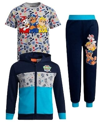 3-Piece Kids' Clothing Sets (4 Styles)