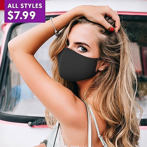 $7.99 Adult Reusable Face Mask 12-Pack