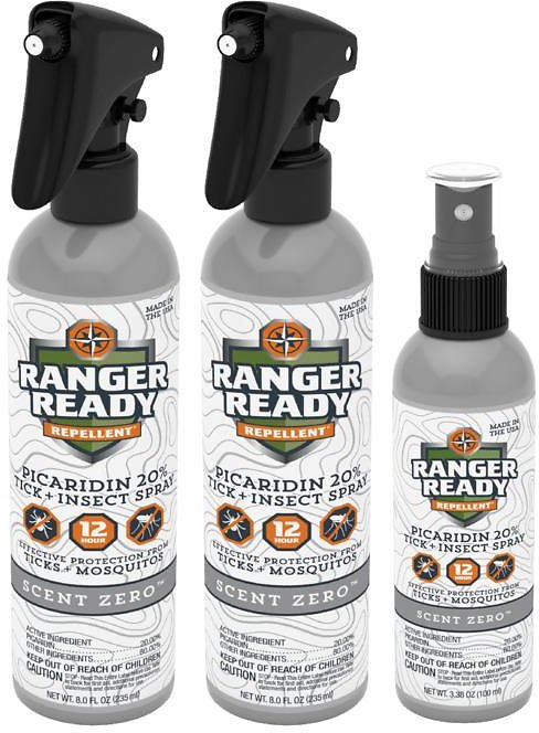 Exclusive! Ranger Ready Picaridin 20% Insect Repellent Set - 3-pack