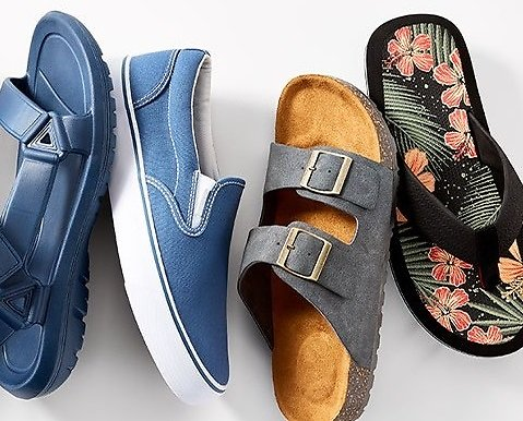 Up To 50% Off All-new Shoes from Skechers, Keds, & More