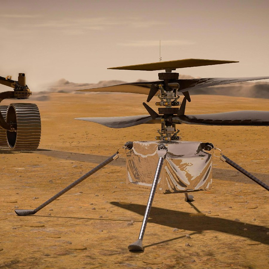 NASA's Ingenuity Helicopter Successfully Makes Historic First Flight On Mars